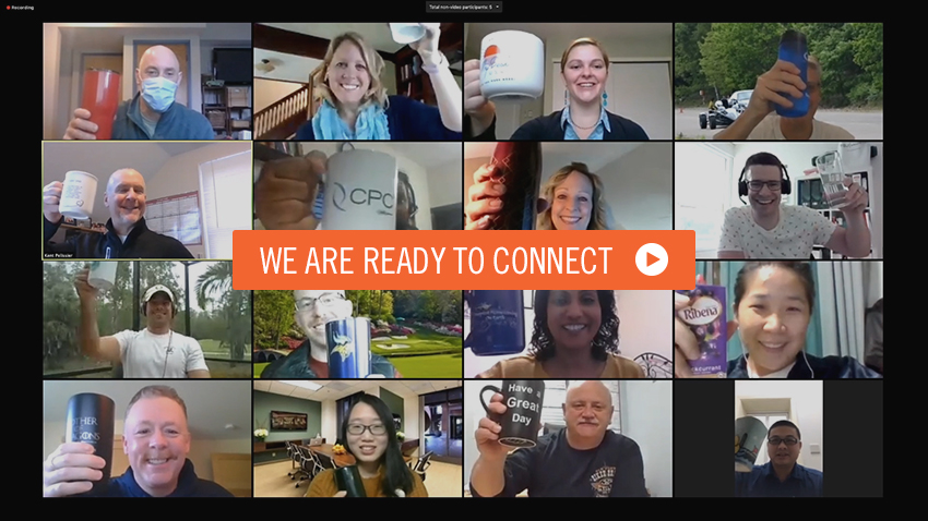 We are ready to connect - Play Video