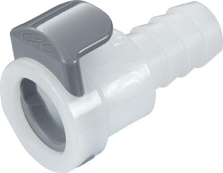 3/8 Hose Barb Non-Valved In-Line Coupling Body (APC17006 NSF)
