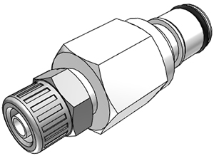 1/4 In-Line Compression Coupling Insert