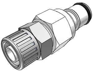 3/8 In-Line Compression Coupling Insert