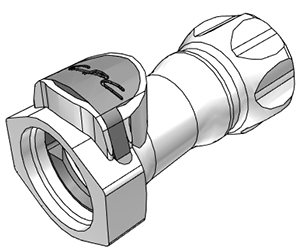 3/4 GHT Non-Valved Coupling Body