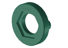 Ring, Color code, Green Nylon