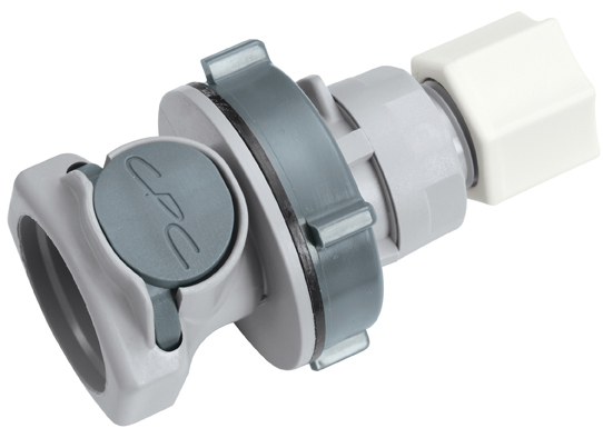 3/8 JACO Non-Valved Panel Mount Coupling Body