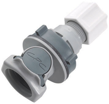 1/2 JACO Valved Panel Mount Coupling Body