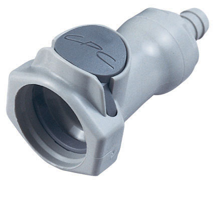 3/8 Hose Barb Valved In-Line Coupling Body (HFCD17612 NSF)