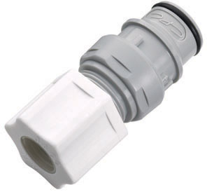 1/2 Compression Non-Valved In-Line Insert