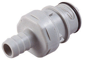 3/8 Hose Barb Valved In-Line Coupling Insert (HFCD22612 NSF)