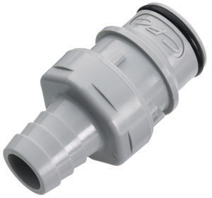 1/2 Hose Barb Non-Valved In-Line Coupling Insert  (HFC22812 NSF)
