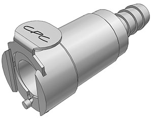 5/16 Hose Barb Non-Valved In-Line Coupling Body