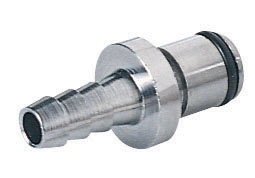 1/4 Hose Barb Non-Valved In-Line Coupling Insert  (LC22004 NSF)