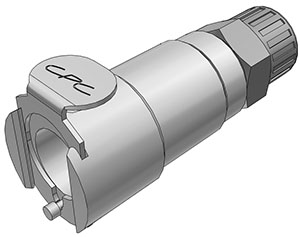 3/8 PTF Valved In-Line Coupling Body