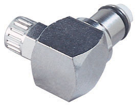 1/4 PTF Non-Valved Elbow Coupling Insert