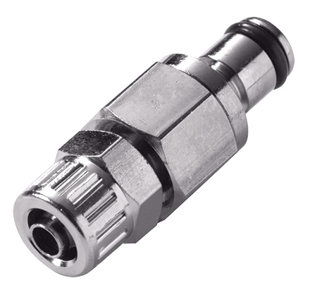 1/4 PTF Non-Valved In-Line Coupling Insert