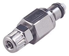 1/4 PTF Non-Valved In-Line Coupling Insert (MC2004 NSF)