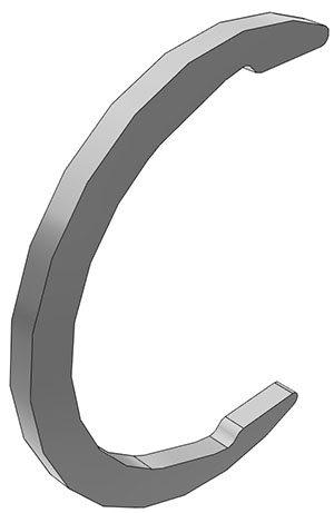 Retaining Ring, LC Multi-Mount