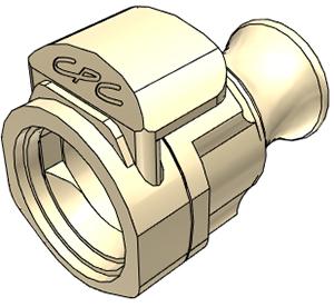 MPX Coupling Cap, Locking