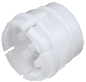 Valved Coupling Insert with 1/8 Hose Barb Female Fitting Bodies