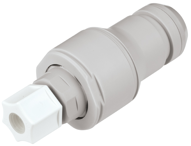 3/8 JACO Valved In-Line Coupling Insert