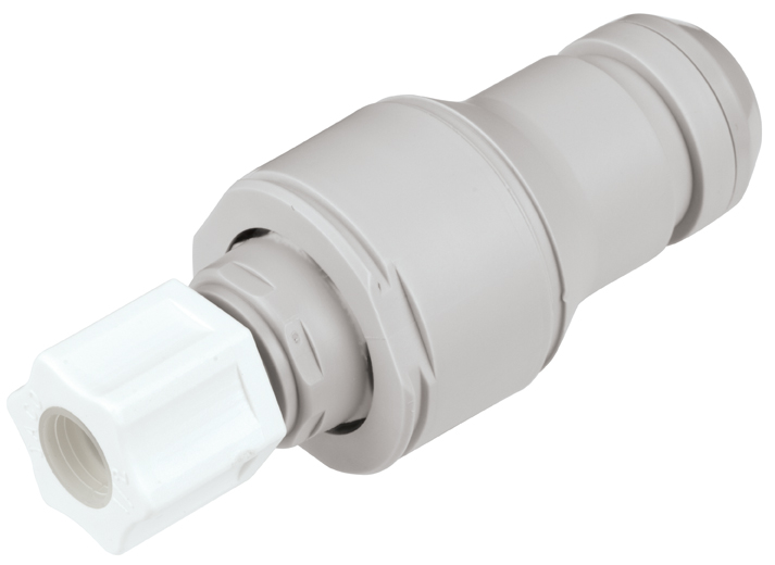 1/2 JACO Valved In-Line Coupling Insert