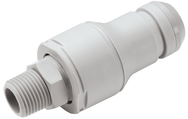 1/2 MNPT Valved In-Line Coupling Insert