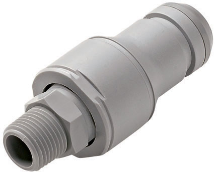 3/8 FNPT Valved In-Line Coupling Insert