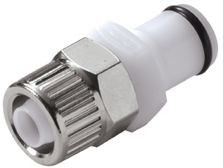 3/8 PTF Non-Valved In-Line Coupling Insert (PLC20006 NSF)
