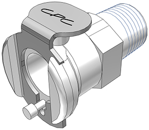 1/8 BSPT Non-Valved Coupling Body