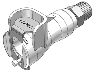 5mm PTF Non-Valved In-Line Coupling Body