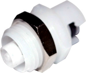 1/16 Hose Barb Non-Valved Panel Mount Coupling Insert