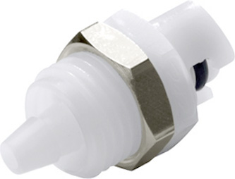 1/8 Hose Barb Non-Valved Panel Mount Coupling Insert