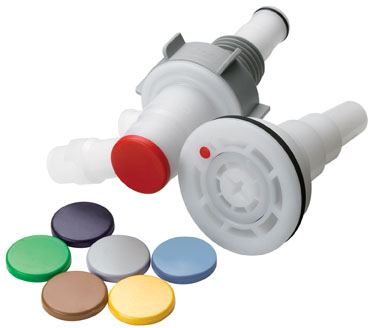 Key Kit for Drum Coupling Insert, All Molded Colors