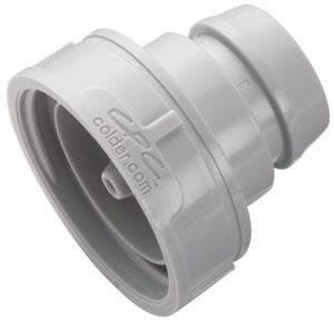 IdentiQuik 38mm Valved Threaded Cap with RFID, acetal