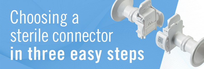 How to choose sterile connectors